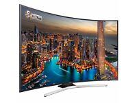 "SAMSUNG Curved Smart 4K Ultra HD HDR 40"" LED TV"
