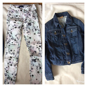 Mexx Jean jacket  and Levis jeans size 7/8