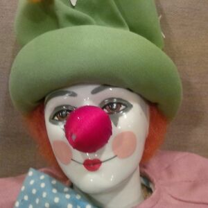 CLOWN - with ceramic head and hands Kitchener / Waterloo Kitchener Area image 2