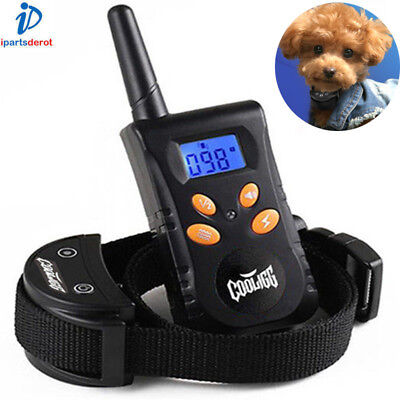 Cooligg Electric Dog Training Collar Rechargeable Shock Collar With LCD Remote