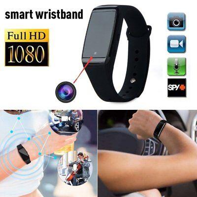 Wrist Watch 1080P HD Video Hidden Spy Mini Camera Motion Detection DVR Record US for sale  Santa Clara