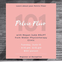 Pelvic Floor and You- A Talk About YOUR PELVIC FLOOR