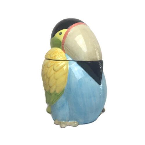 Gift Gallery Ceramic Toucan Bird Cookie Jar
