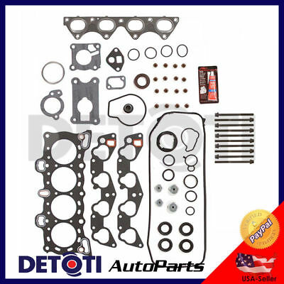 1.6 Head Gasket Kit - Head Gasket Set Head Bolts Graphite Kit For 88-95 Honda Civic 1.5L 1.6L I4 D15B7