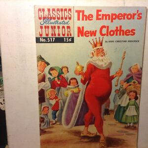 Classics Illustrated Junior #517 THE EMPEROR'S NEW CLOTHES