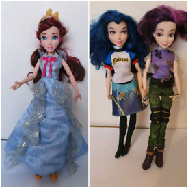 Mal evie & jane descendant dolls disney store toys hasbro doll