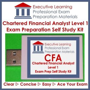(CFA 2018) Kaplan Schweser Level 1 Textbooks