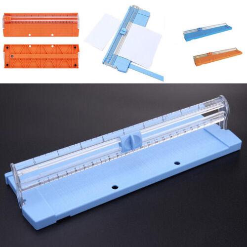 A4/A5 Precision Paper Card Trimmer Ruler Photo Cutter Cutting Blade Office Kit