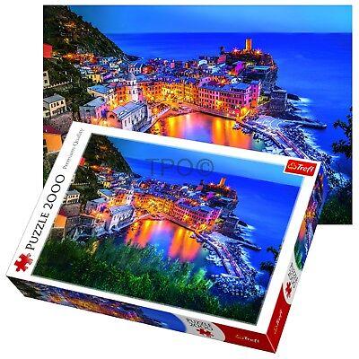Trefl 2000 Piece Adult Large Venice Dusk View Sunset Skyline Floor Jigsaw Puzzle - Adult Puzzles