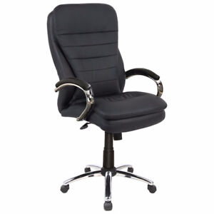 Picket House Aaron Executive Office Chair - Black New in Box