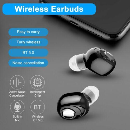 Mini Bluetooth V5.0 Headset Stereo Wireless Earphone Earbud
