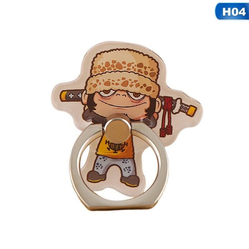 Luffy Finger Ring Buckle Holder Stand Mount Bracket Phone ONE PIECE Monkey D