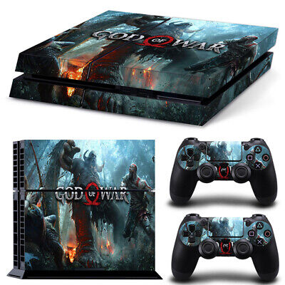 Pegatina God Of War Playstation 4 / PS4 / Play 4 Piel...