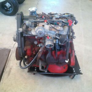 VOLVO 4 CYL B230 FT TURBO ENGINE, COMPLETE