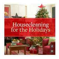 $80 Housekeeping Christmas special top-bottom clean $80