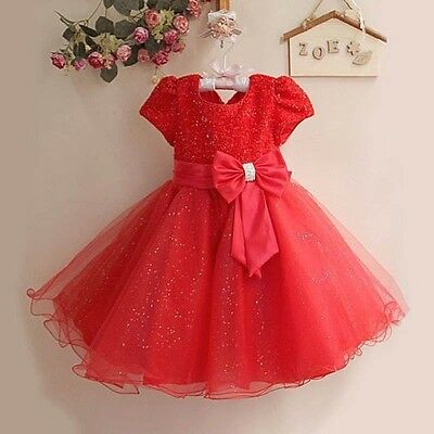 Cheap Kid Dresses (Occasion Kids Birthday Sparkly Sequin Summer Cheap Baby Girl Party Dress in)