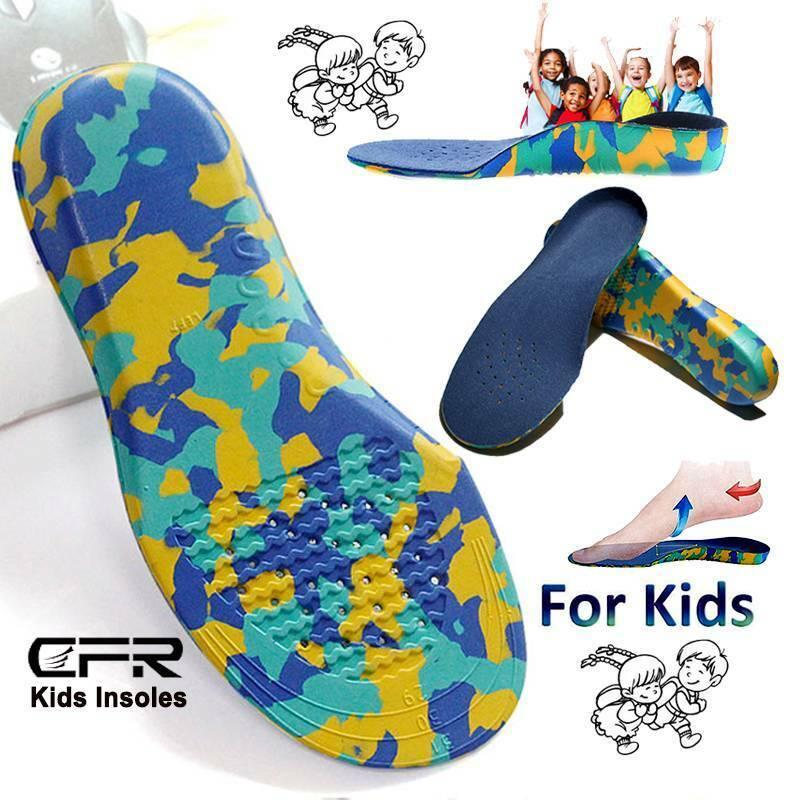 Kids Boys Girls Orthotic Shoes Insoles Orthopedic Flat Feet