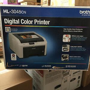 Brother HL-3045CN Digital Laser Color 19 PPM Printer NEW