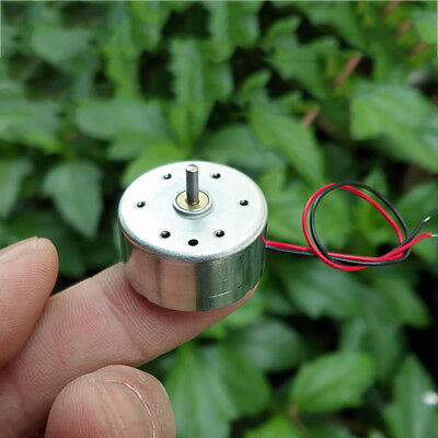 Rf-300ca Dc 3v 5v 6v 11000rpm Micro Mini 24mm Round Solar Power Motor 2mm Shaft
