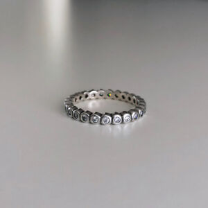 Like New - PANDORA Sterling Silver Stackable Ring