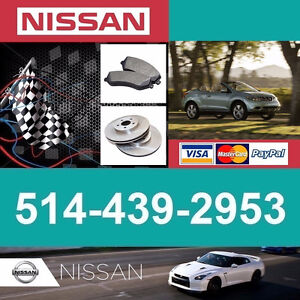 Nissan Murano ■  Freins et Disques ► Brakes and Rotors