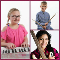 Oakville In-Home Music Lessons - Guitar, Piano, Drums, Ukulele