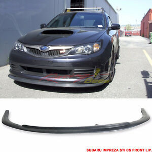Front Lip for 08 09 10 Subaru Impreza WRX V-LIMITED STYLE