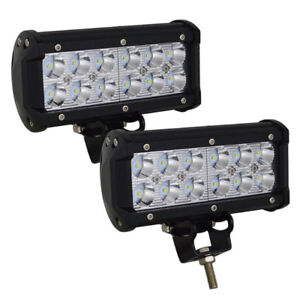 "7"" CREE LED Work Lights - 2 Pack"