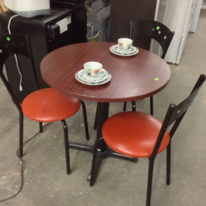 Restaurant Bistro Tables and Chairs