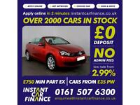 Volkswagen Golf S Tsi Convertible 1.4 Manual LOW RATE CAR FINANCE AVAILABLE