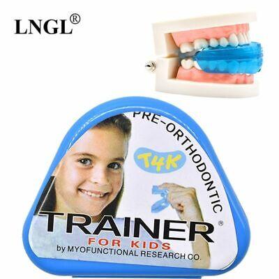 1pc T4k Children Dental Tooth Orthodontic Appliance Trainer Kids Alignment Brace