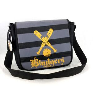 Harry Potter Book Bag Bludgers Canvas Messenger Shoulder Cross