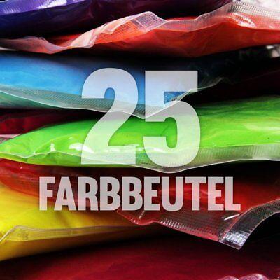 25 x Holi Pulver - Gulal - Festival Farbbeutel - Fotoshooting 10 Farben