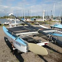 Hobie 16 for sale with trailer