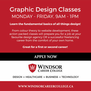 Graphic Design Diploma at Windsor Career College
