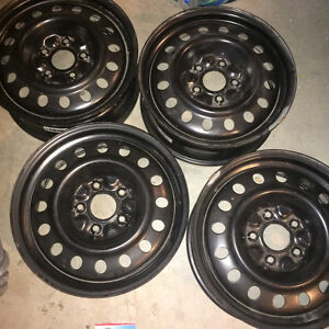 LIKE NEW 5x127 winter / steel rims - 17 inch