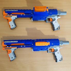 2X NERF GUNS RAIDER CS-35