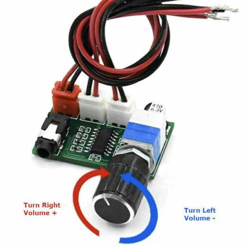 DC5V 2*3W PAM8403 Audio Power Amplifier Board Dual Channel Amp Module Adjustable