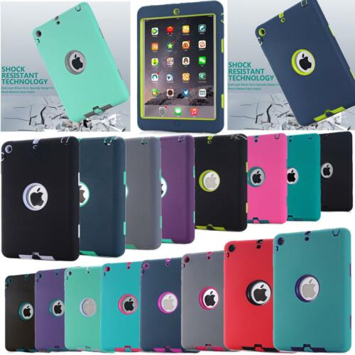 Heavy Duty Rubber Shockproof Case Cover For Apple iPad 2/3/4