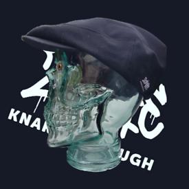 Zombie Knaresborough black adjustable flat cap