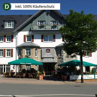 Sauerland 4 Tage Willingen Urlaub Best Western Hotel Reise-Gutschein 4 Sterne