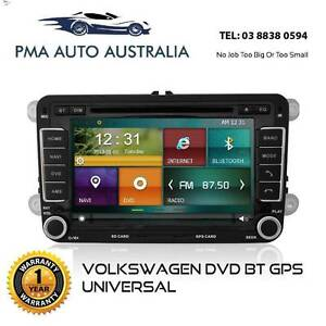 VOLKSWAGEN GOLF TIGUAN AMAROK PASSAT JETTA HEAD UNIT DVD GPS BT Melbourne Region Preview