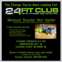 24 Fit -- Get in shape for the holidays!