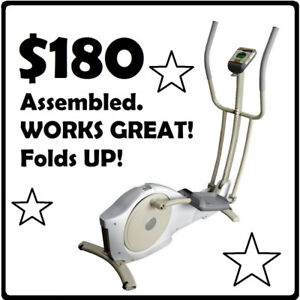 TEMPO Evolve Elliptical Trainer (CE11) --- $180 ONLY !!