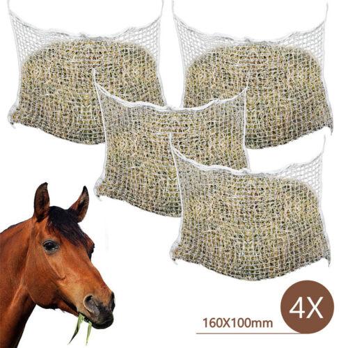 Heunetz Maschenweite 3x3 cm 120 x 90cm Futternetz für Ponys Engmaschig Heutasche