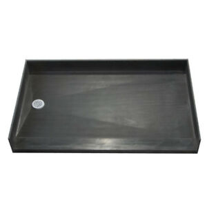 34 in. x 60 in. Barrier Free Shower Base with  Drain