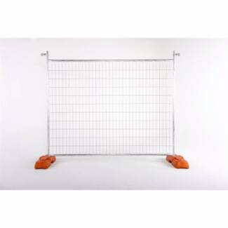 New Temporary Fencing Panel 2.4m x 2.1m (WxH) From $36 plus GST