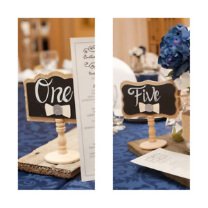 Small Personalized Chalk Sign Making