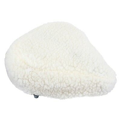 Padded Bicycle Seat Covers (COVER for Bicycle Seat. Imitation Sheepskin.  Padded.  About 10 1/2