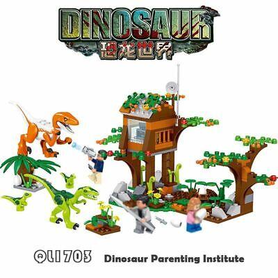 Jurassic Park Dinosaurs Tyrannosaurus Building Blocks World Series For Children